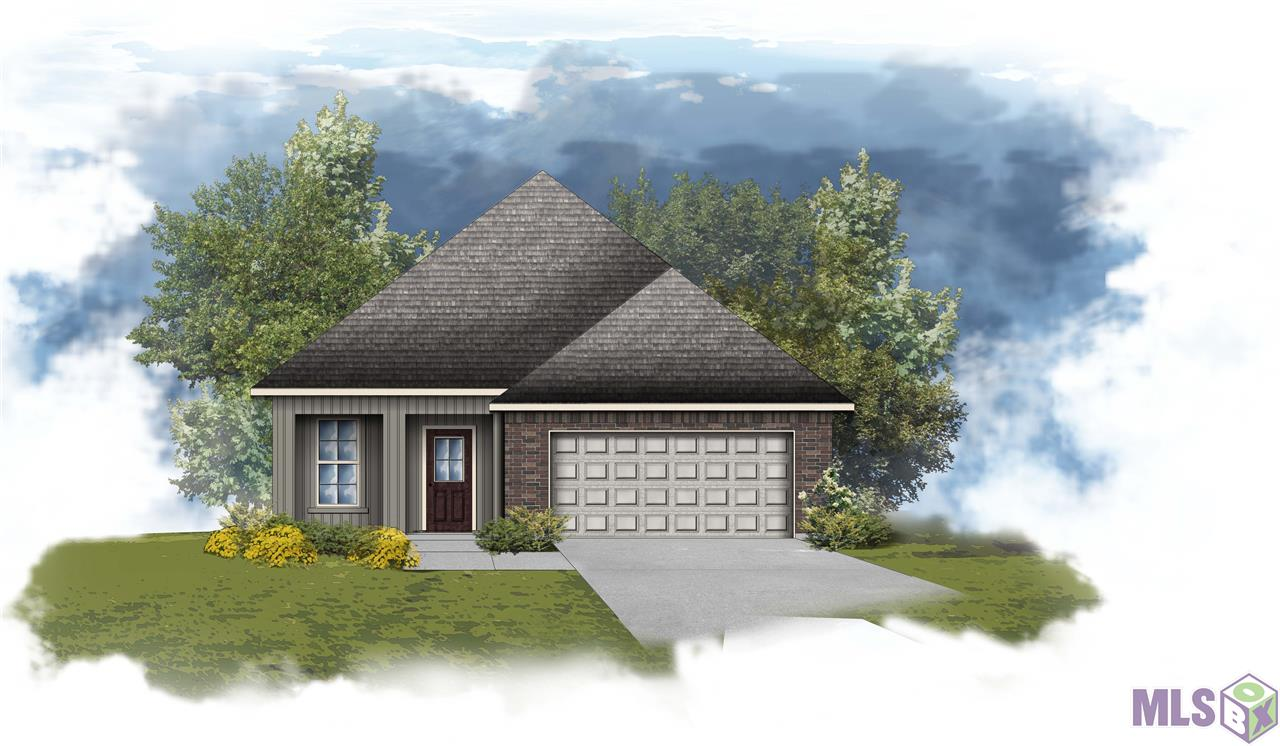 The FLETCHER IV G in Camellia Cove community offers a 3 bedroom, 2 full bathroom, open design.  This home site is located on a corner lot.  Upgrades include quartz countertops, stainless gas appliance package, cabinet hardware, and more!     Special Features:  private water closet, double vanity, garden tub, separate shower, and walk-in closet in the master suite, kitchen island, covered front porch, covered rear patio, undermount sinks, luxury vinyl plank flooring in the living room, halls, and all wet areas, recessed lighting, ceiling fans in the living room and master bedroom, Honeywell Smart Connect WiFi thermostat, Tuscan bronze plumbing fixtures, smoke and carbon monoxide detectors, post tension slab, automatic garage door with 2 remotes, seasonal landscaping package, architectural 30-year shingles, and more!   Energy Efficient Features:  tankless gas water heater, Frigidaire stainless appliance package, low E tilt-in windows, radiant barrier roof decking, and more!  Virtual tour for this listing is of a similar floor plan.
