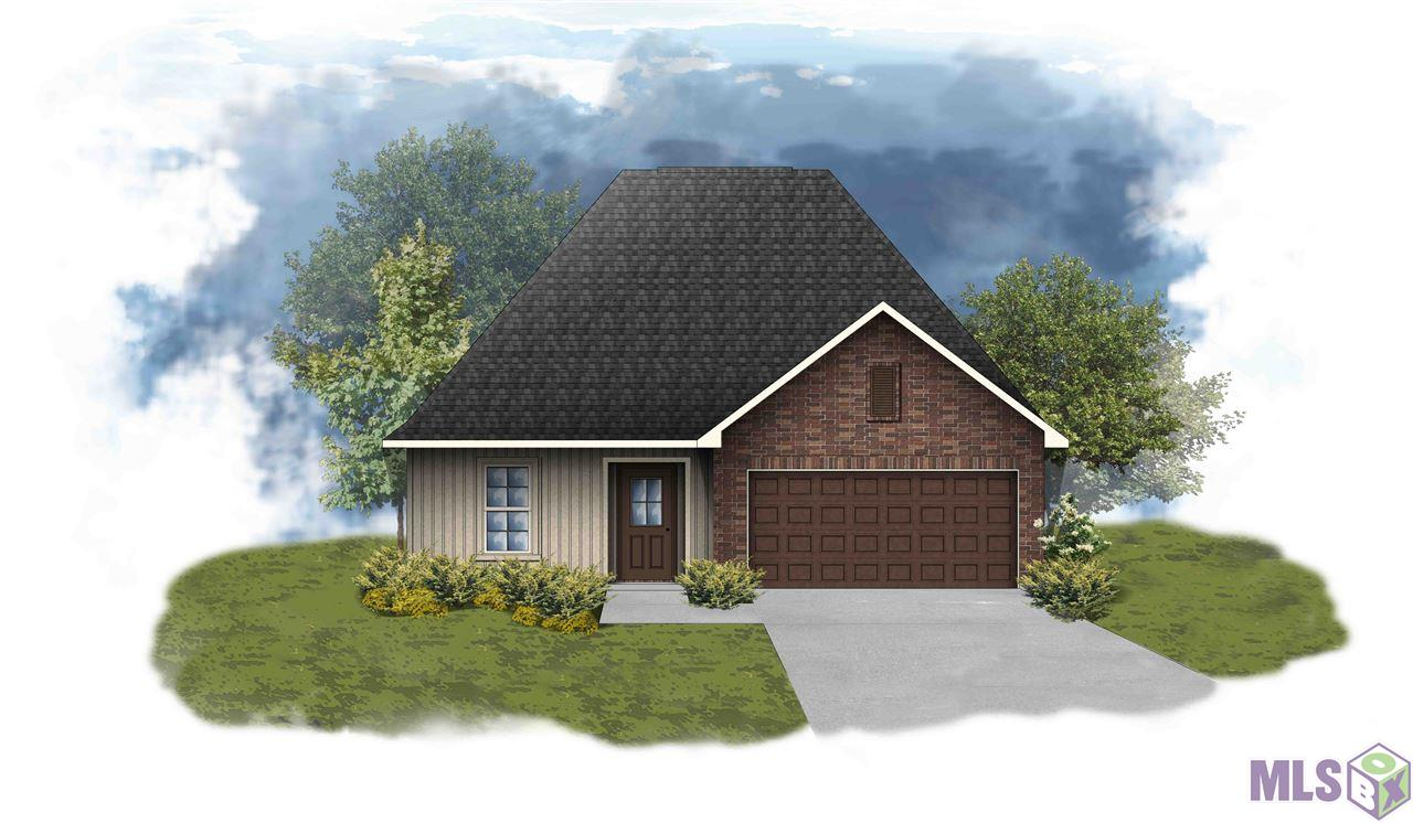 The NEWTON III G in Camellia Cove community offers a 3 bedroom, 2 full bathroom, open design.  Upgrades include a stainless gas appliance package, cabinet hardware, LED lighting packages, and more! Special Features:  private water closet, double vanity, soaking tub, separate shower, and walk-in closet in the master suite, kitchen island, walk-in pantry, mud room with boot bench, covered rear patio, recessed can lighting, granite countertops, undermount sinks, luxury vinyl plank flooring in the living room, halls, and all wet areas, ceiling fans in the living room and master bedroom, Honeywell Smart Connect WiFi thermostat, Tuscan bronze plumbing fixtures, smoke and carbon monoxide detectors, post tension slab, automatic garage door with 2 remotes, fully sodded yard with seasonal landscaping package, architectural 30-year shingles, and more!  Energy Efficient Features:  tankless gas water heater, Frigidaire stainless appliances, low E tilt-in windows, radiant barrier roof decking, and more!