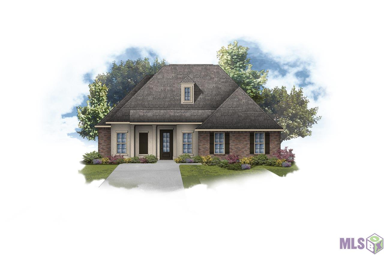 The HENRI II A in The Reserve at Conway community offers a 4 bedroom, 3 full bathroom, open and split design with a formal dining room and a computer nook.  This home site backs up to a pond.  Upgrades include luxury wood-look tile flooring throughout, quartz countertops, quartz fireplace profile, painted brick exterior, and more! Special features:  private water closet, double vanity, soaking tub, separate custom tiled shower, and walk-in closet in the master suite, tray ceiling in the master bedroom, sitting area in bedroom 3, built-in bookcases on each side of the fireplace, kitchen island, walk-in pantry, boot bench and drop zone in the mud room, covered front porch, covered rear patio, crown molding, recessed can lighting, undermount sinks, upgraded pull-down faucet and custom backsplash in the kitchen, custom stained or painted cabinets with hardware throughout, decorative, painted fireplace mantle, upgraded paint throughout the home, Tuscan bronze plumbing fixtures, framed mirrors in all bathrooms, smoke and carbon monoxide detectors, post tension slab, automatic garage door with 2 remotes, seasonal landscaping package, architectural 30-year shingles, and more!   Energy Efficient Features:  tankless gas water heater, Frigidaire stainless appliances with gas range, low E tilt-in windows, radiant barrier roof decking, and more!