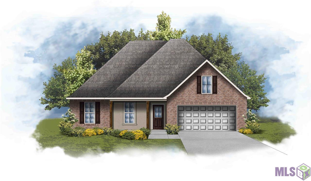 The RIPLEY IV A in Arbor Walk community offers a 4 bedroom, 2 full bathroom, open design.  Upgrades include a luxury vinyl plank flooring upgrade package, electric appliance package, and more!   Special Features:  double vanity, garden tub, separate shower, and 2 walk-in closets in the master suite, kitchen island, covered front porch, covered rear patio, recessed can lighting, granite counters, ceiling fans in the living room and master bedroom, Tuscan bronze fixtures, smoke and carbon monoxide detectors, post tension slab, automatic garage door with 2 remotes, landscaping package, architectural 30-year shingles, and more!   Energy Efficient Features:  tankless gas water heater, appliance package, low E tilt-in windows, and more!