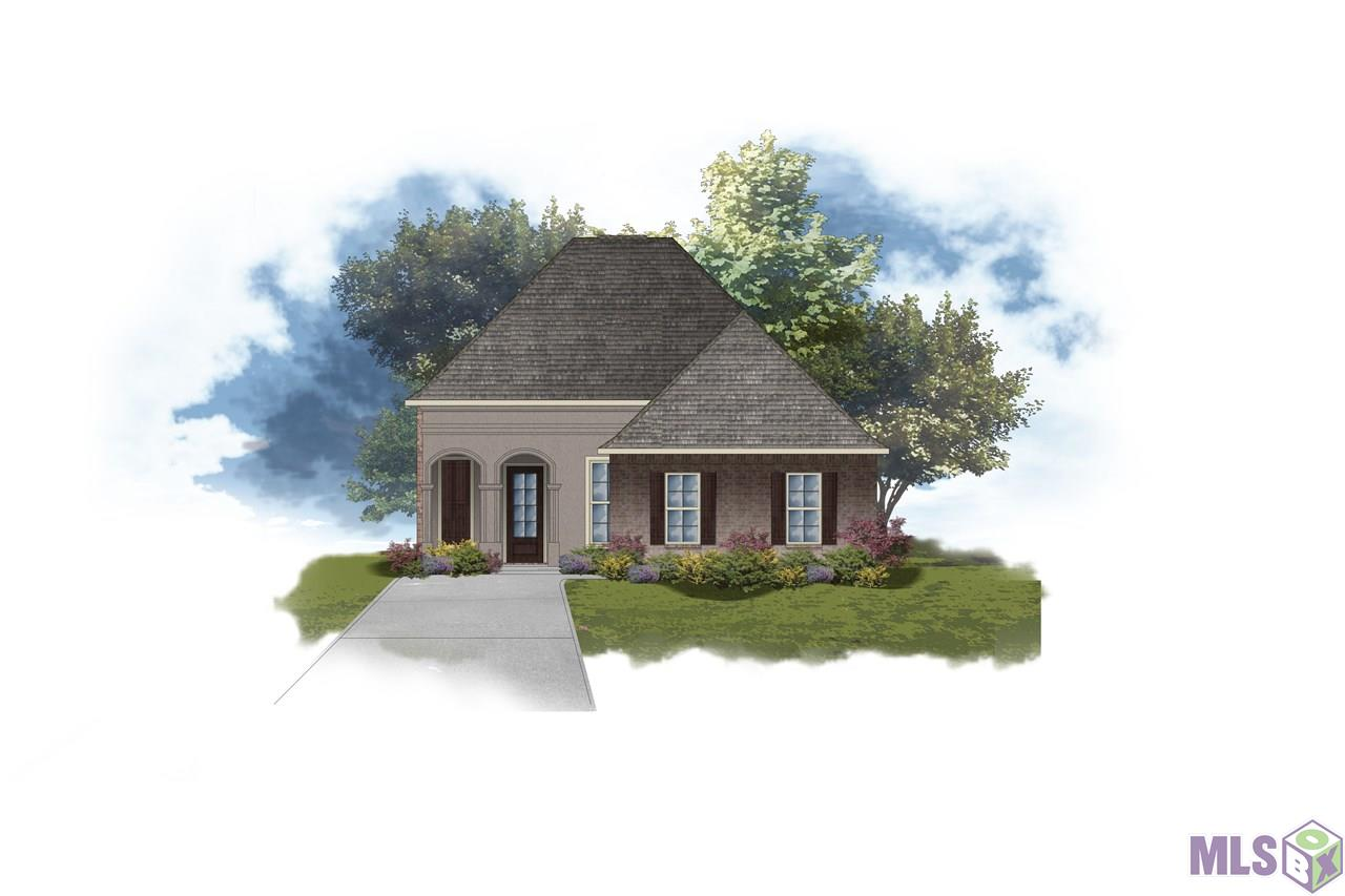 The RICCI II A in Jamestown Crossing community offers a 3 bedroom, 2 full bathroom, open design with a formal dining room and an office.  The community is lined with mature trees and features sidewalks, a pond, large common areas, streetlights, and one-way in/out.  Upgrades include a ceramic tile flooring package, gas appliance package, and more! Special Features:  private water closet, double vanity, soaking tub, separate shower, and walk-in closet in the master suite, tray ceiling in the master bedroom, double vanity in the second bathroom, kitchen island, walk-in pantry, built-in desk in the office, mud room with boot bench, covered rear patio, recessed can lighting, granite counters, undermount sinks, cabinet hardware throughout, decorative fireplace mantle with granite profile, LED lighting throughout, ceiling fans in the living room and master bedroom, Tuscan bronze plumbing fixtures, custom framed mirrors in all bathrooms, Honeywell Smart Connect WiFi thermostat, smoke and carbon monoxide detectors, post tension slab, automatic garage door with 2 remotes, landscaping package, architectural 30-year shingles, and more!   Energy Efficient Features:  tankless gas water heater, appliance package, low E tilt-in windows, and more!