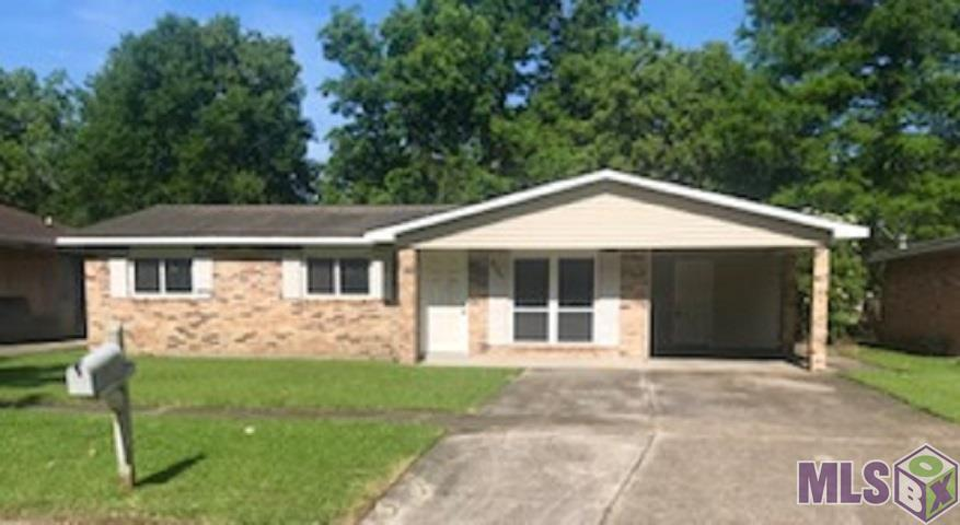 Opportunity is knocking to complete this home & make it exactly what you want.  This 3 bedroom has 1 full bathroom & a 1/2 bath off the master bedroom.  Home flooded in 2016 & demo was done.  Reconstruction was started, but not completed.  Owner added the sheetrock, new a/c & kitchen/bath cabinets.  Ready for new owner to finish for their own or investment property.  Make your appointment today.