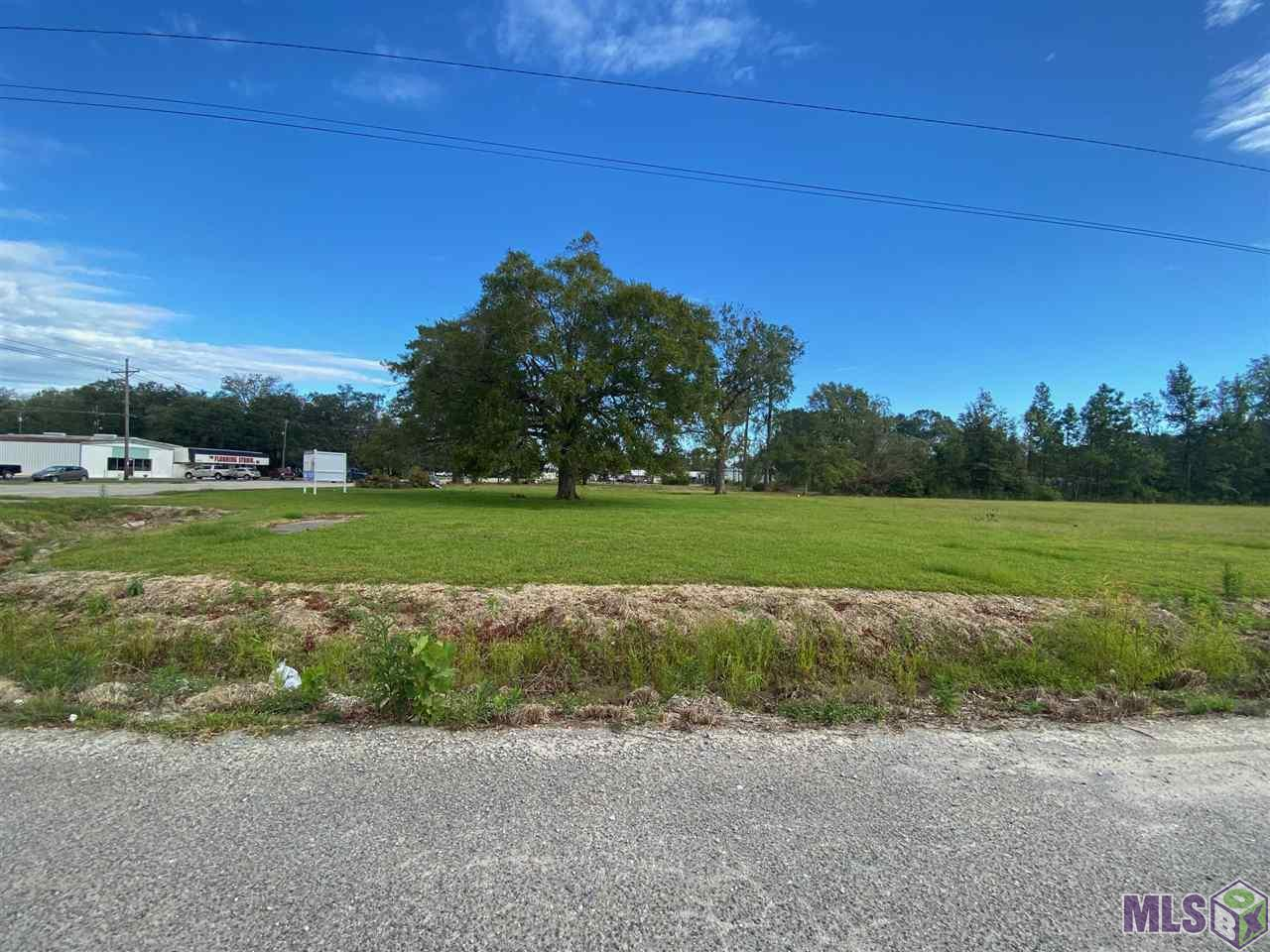 Commercial land zoned mixed use (MU) located directly on Hwy 44 in Gonzales. This property is approximately 2.83+/- acres of cleared land and provides 410' of street frontage facing Hwy 44.