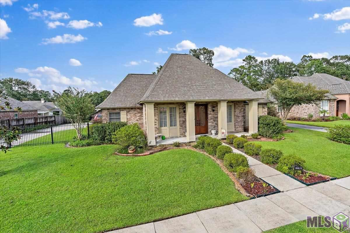 NEW listing in the highly desirable Bellingrath Lakes Subdivision!  This 3 bedroom 2 1/2 bath house is all brick, has a sunroom across the back and a beautiful covered patio!  The yard is fully fenced and there is a wrought iron electric gate at the entrance to the driveway.  A two car carport plus an attached 3rd bay for storage or a workshop are included.  The front entry is a GORGEOUS double glass and wrought iron door - what a grand entrance!  All landscaping is beautifully maintained.  *The office/study could be a living room, 4th bedroom or play room - very flexible*  You better not wait to see this one!